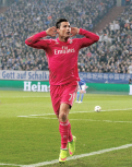 Cris celebrates with I can't hear you