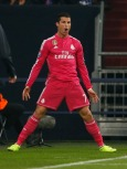 Cristiano celebrates his goal as only he can