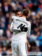 James hugs Ramos