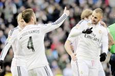 Ramos and Benzema