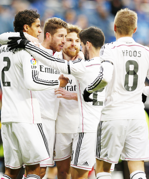 Ramos and Isco moment