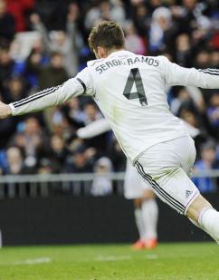 Ramos in flight