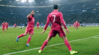 Ronaldo celebrating v Schalke