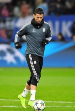 Ronaldo warm up