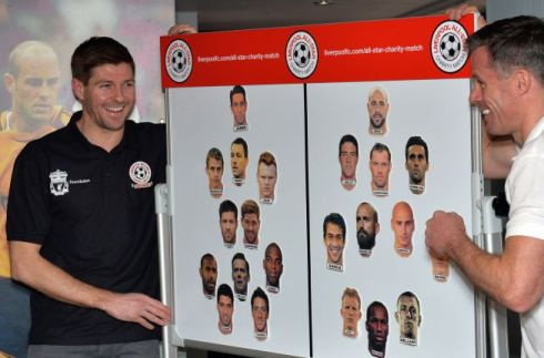 I see you putting Gerlonso right in the middle, Stevie. You're fooling no one!