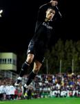 Cristiano celebrates scoring first goal