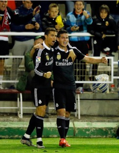 James and Cris show love