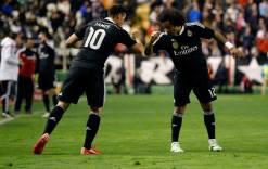 James and Marcelo secret handshake