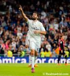 Arbeloa celebrates scoring