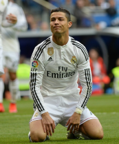 Frustrated Cristiano
