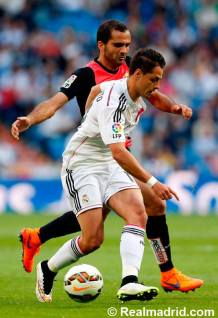 Hernandez on the ball