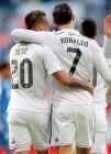 Jese and Ronaldo