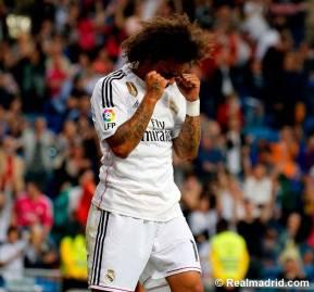 Marcelo celebration