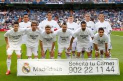 Real Madrid starters