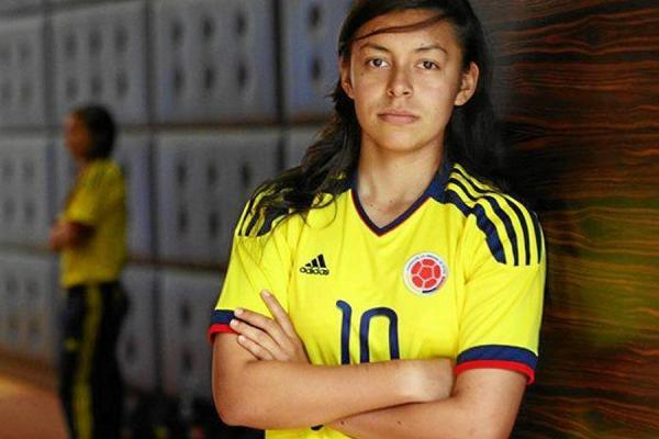 Yoreli Rincon: The Daily Drool: 2015 WWC Group F: Colombia's Yoreli