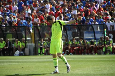 Iker with Spain
