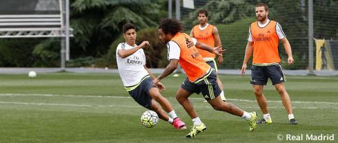 Marcelo on the ball