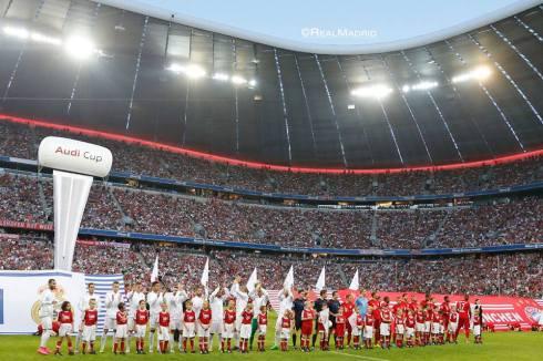 Pre-match festivities