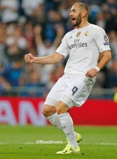 Benz celebrates scoring