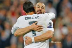 Cris and Benz hugs