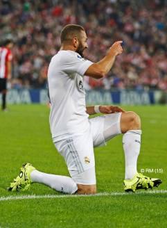 Karim celebrates