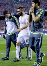 Carvajal subbed off