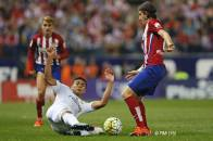 Casemiro in for the tackle