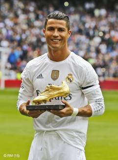 Cristiano golden boot