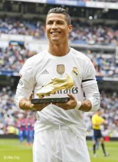 Golden shoe