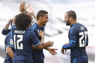 Jese celebrates with Danilo