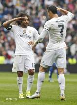Marcelo and Cristiano salute