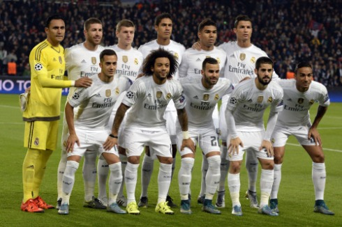 Real Madrid starters