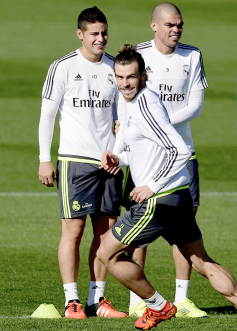 Creepy Bale, James, Pepe