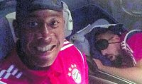 Alaba se burlo de Ribery en vuelo del Bayern a Nueva York