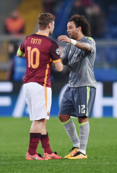 Marcelo and Totti
