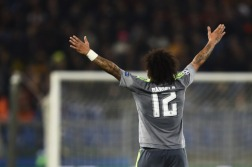 Marcelo arms wide