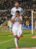 Casemiro celebrates his goal