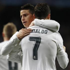 James and Ronaldo
