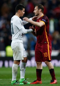 James and Totti