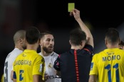 Ramos gets his marching orders