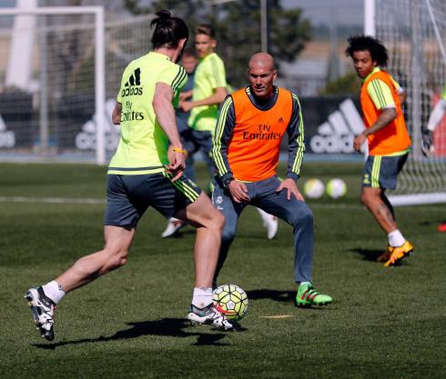 Wouldn't want to try getting past Zizou!
