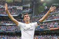 Arbeloa with fans