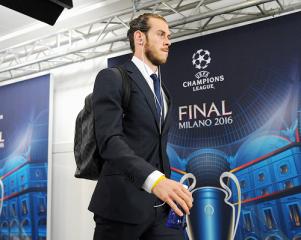 Bale arrives