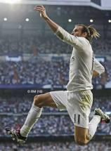 Bale celebrates scoring