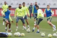 Boys training