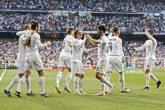 Celebrating the goal