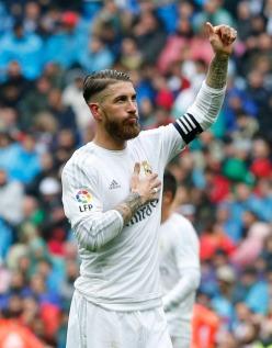 Ramos hand on heart