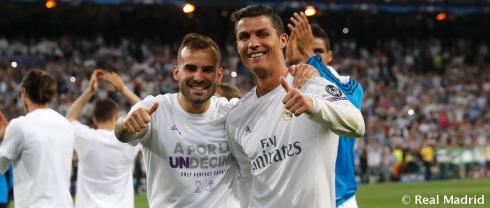 Ronaldo post match