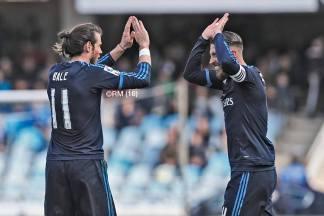 Sergio loving Gareth