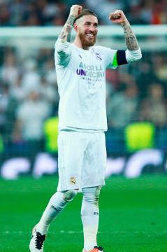 Sergio smiles